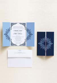 Invitation + Envelope | Palace Gatefold