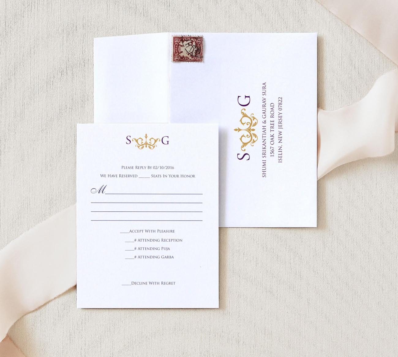 Reply Envelope | Majesty Storybook