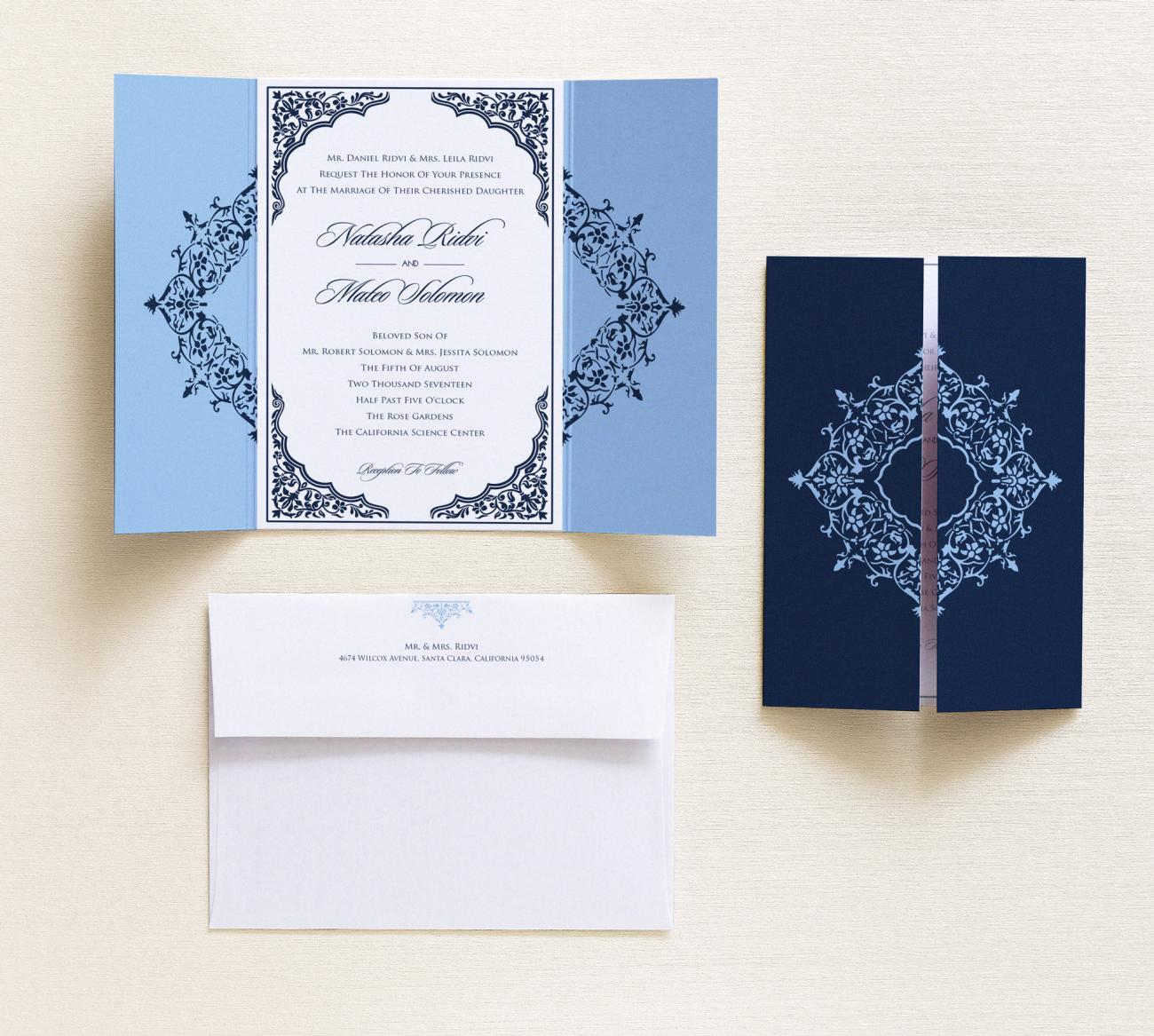 Invitation | Palace Gatefold