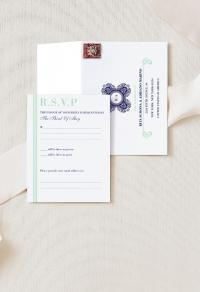 Reply Envelope | Botanic Duet