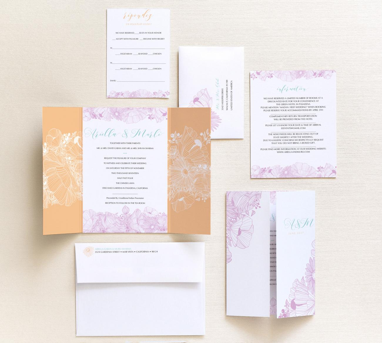 6 Piece Package | Flora Gatefold
