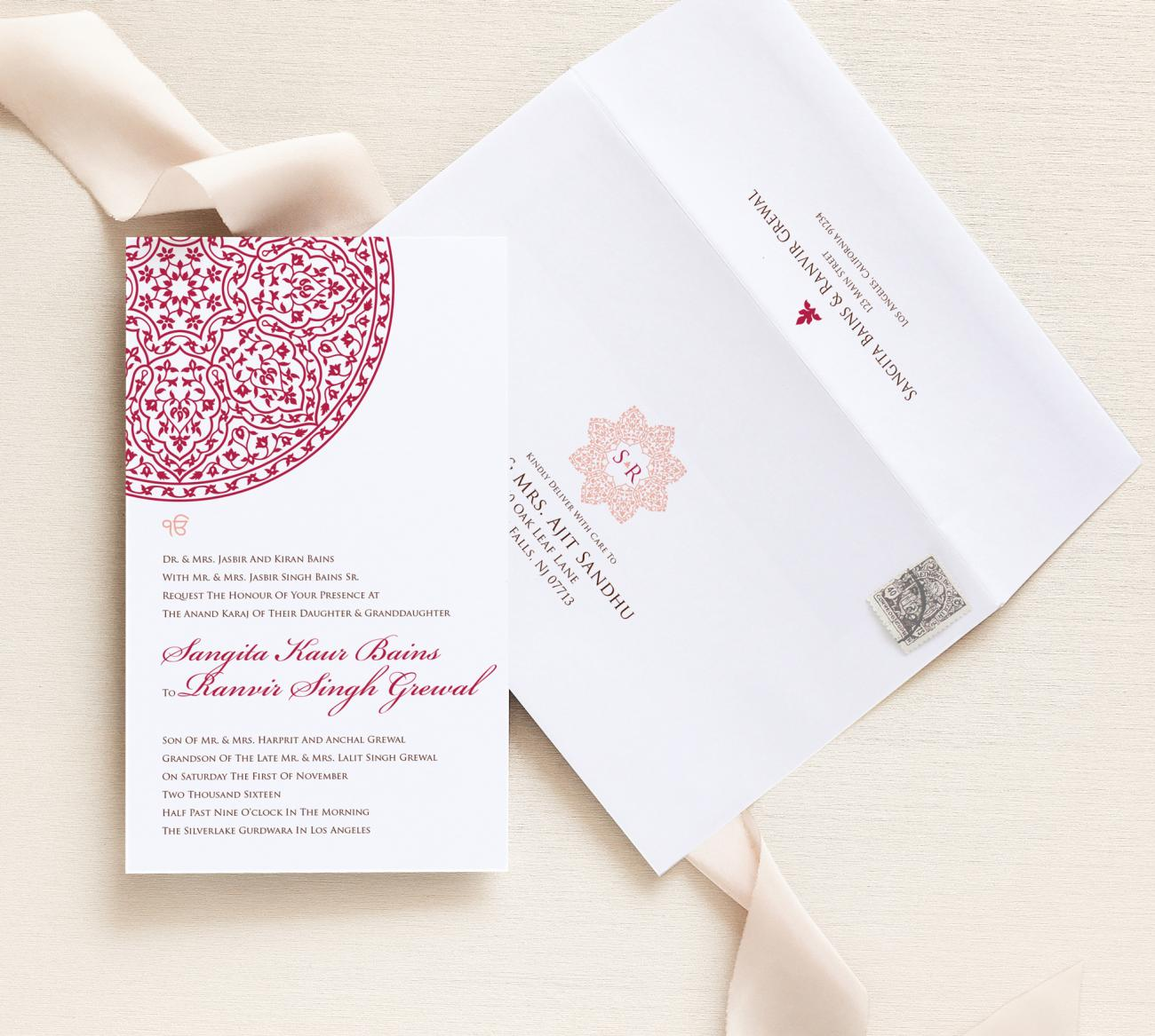 Invitation + Envelope | Cordoba Storybook